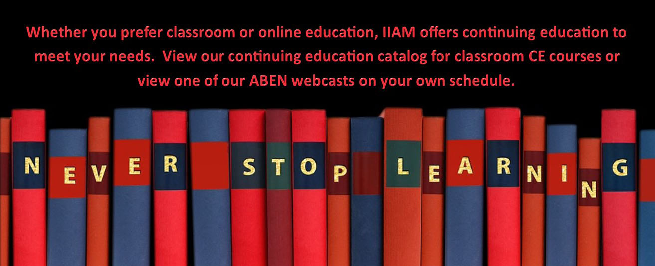 IIAM Continuing Education